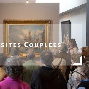 Visite couple  Les peintres de la mer