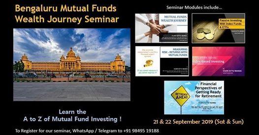 Bengaluru Mutual Fund Wealth Journey September 2019