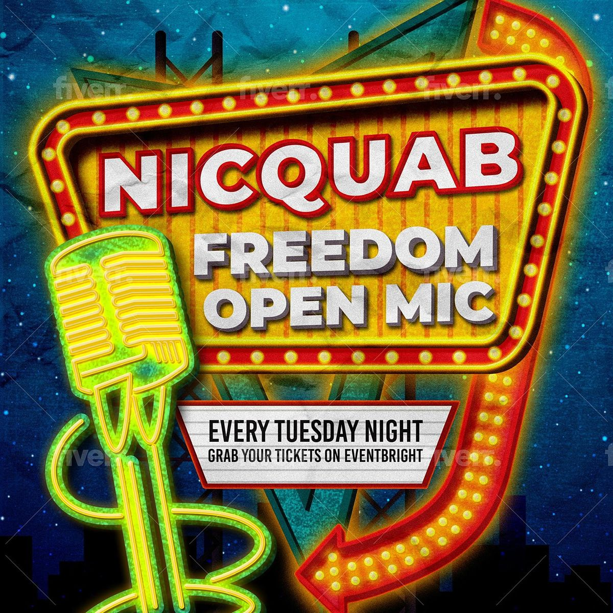 NicquaB Open Mic Tuesday Night | Online Event | AllEvents.in