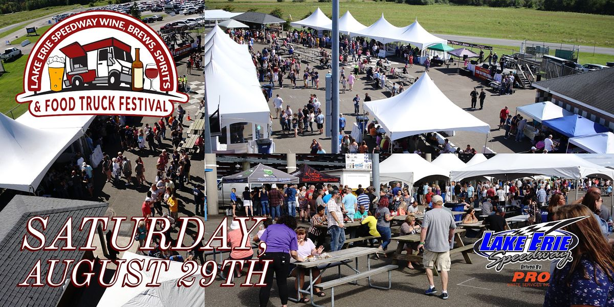 Wine Brews Spirits & Food Truck Fest pres. by Presque Isle DownsCasino