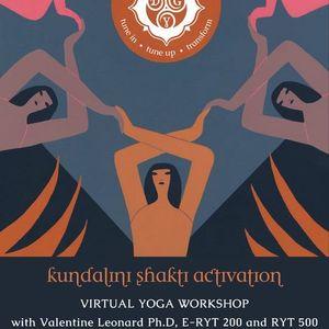 Kundalini Shakti Activation  Virtual Yoga Workshop