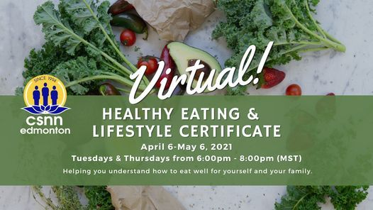 Healthy Eating & Lifestyle Workshop, 6 April | Event in Edmonton | AllEvents.in