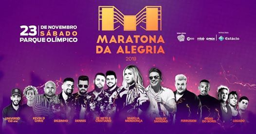 Maratona da Alegria Fm o Dia 2019 - Barra da Tijuca