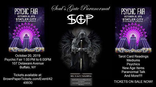 SGP - Souls Gate Paranormal at Statler City Psychic Fair   Cheektowaga