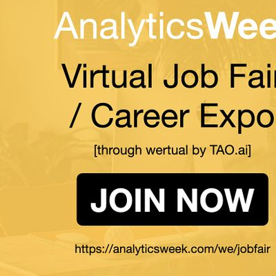 AnalyticsWeek Virtual Job Fair  Career Networking Event Palm Bay