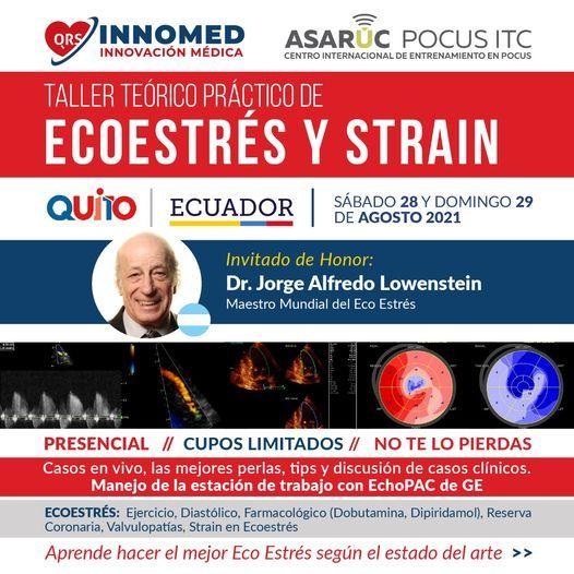 I Curso de Ecoestrés y Strain (Físico y Farmacológico) Ecuador 2021, 28 August | Event in Quito | AllEvents.in