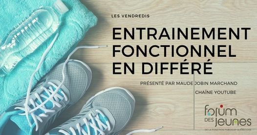 Entraînement fonctionnel en différé par Maude Jobin Marchand, 20 January   Event in Quebec   AllEvents.in