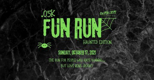 OTC .05k Fun Run: Haunted Edition, 17 October   Event in Wales   AllEvents.in
