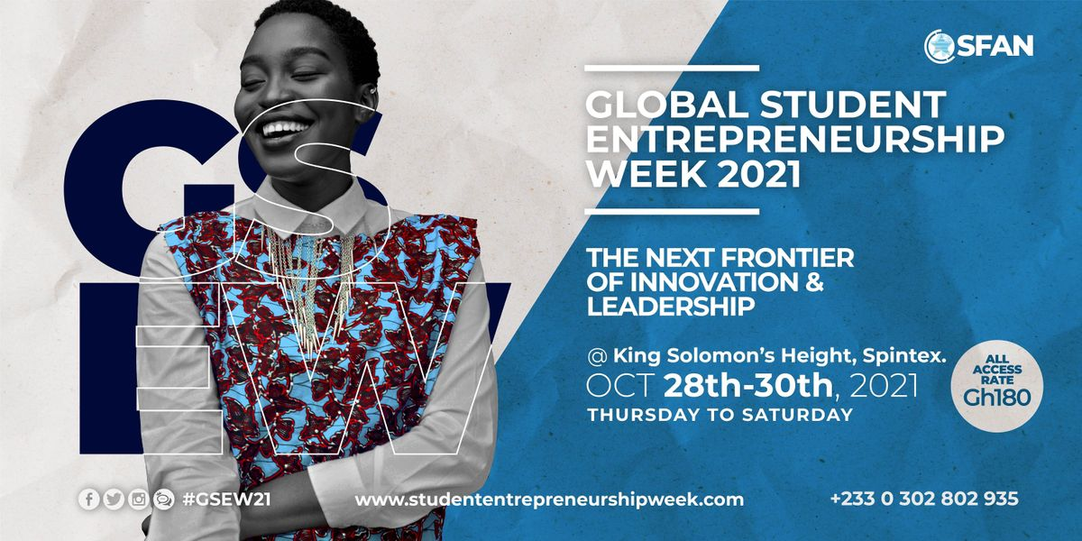 Global Student Entrepreneurship Week 2021, 28 October   Event in Accra   AllEvents.in