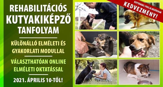 Rehabilitációs kutyakiképző tanfolyam, 10 April   Event in Budapest   AllEvents.in