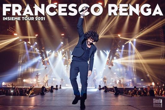 Francesco Renga // Insieme Tour - Napoli, 26 May | Event in Naples | AllEvents.in