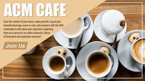 ACM Cafe   Event in Scarborough   AllEvents.in
