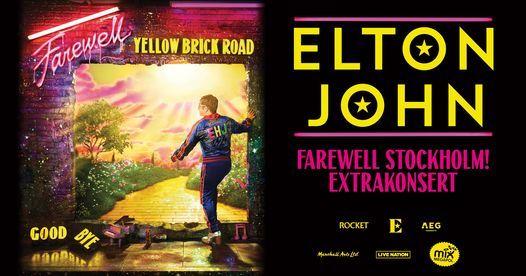 Elton John | Tele2 Arena, Stockholm - Extrakonsert, 8 July | Event in Stockholm | AllEvents.in
