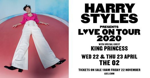 Postponed | Harry Styles at The O2 arena, 23 March | Event in London | AllEvents.in