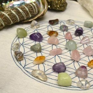 Crystal Grids Create and Activate with Athena