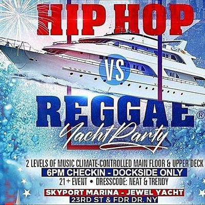 MIDNIGHT CRUISE NYC YACHT PARTY Sat. July 31st