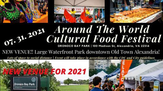 Around The World Cultural Food Festival, 28 August | Event in Washington | AllEvents.in