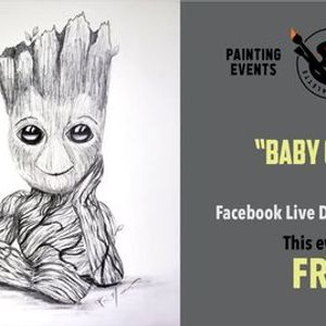 FREE Drawing Tutorial - I Am Groot