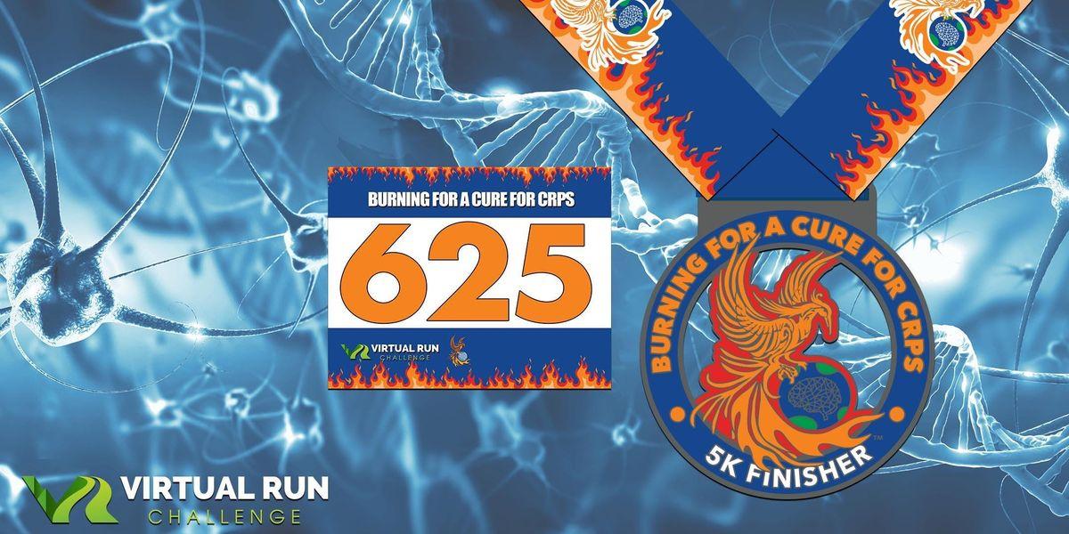 2019  Burning for a Cure for CRPS Virtual 5K Run Walk - Roseville