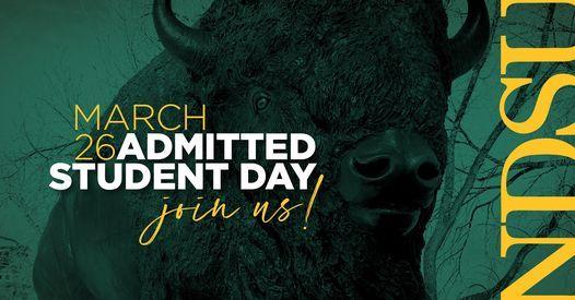 Ndsu Calendar 2022.Ndsu Admitted Student Day North Dakota State University Fargo March 26 2021 Allevents In