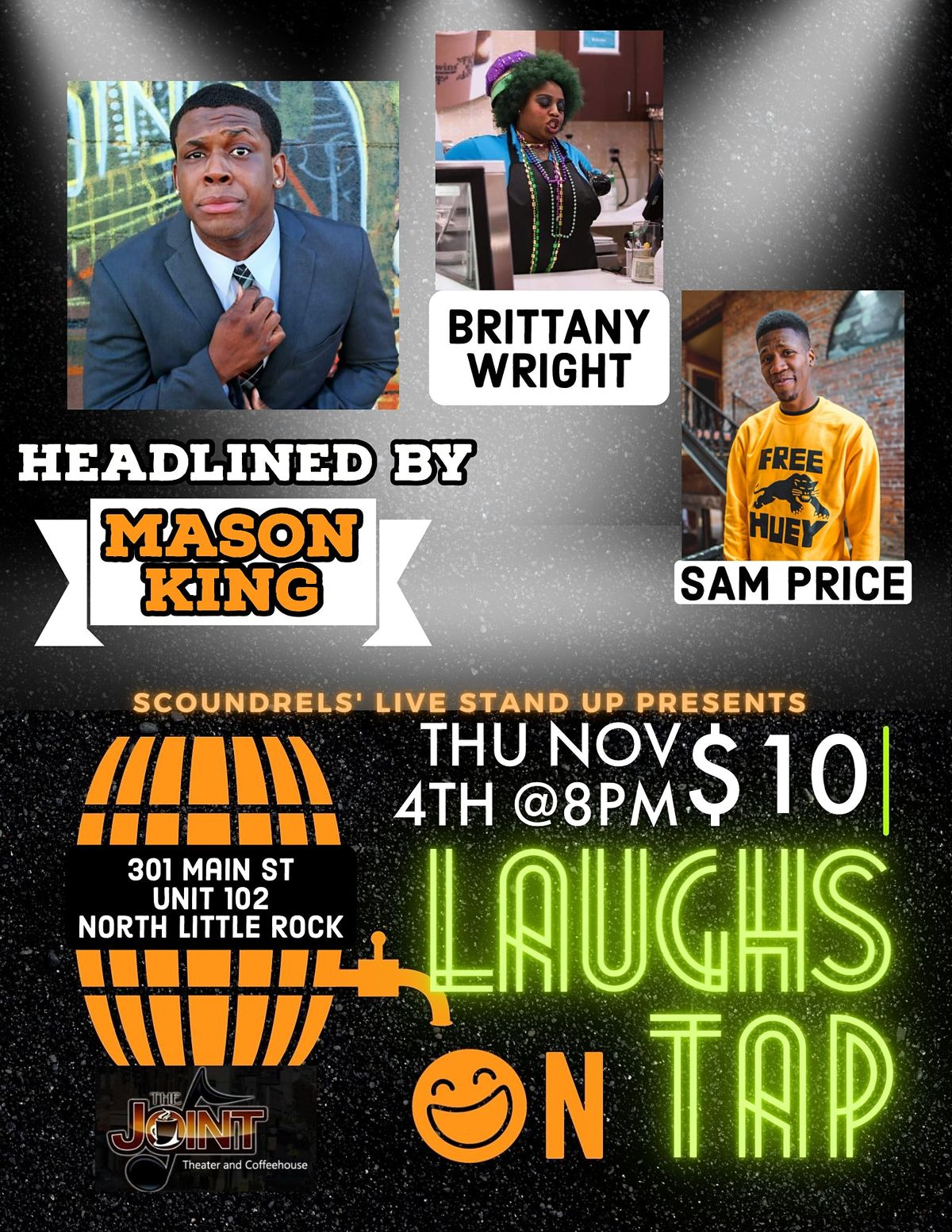 Laughs On Tap at The Joint, 4 November | Event in North Little Rock | AllEvents.in