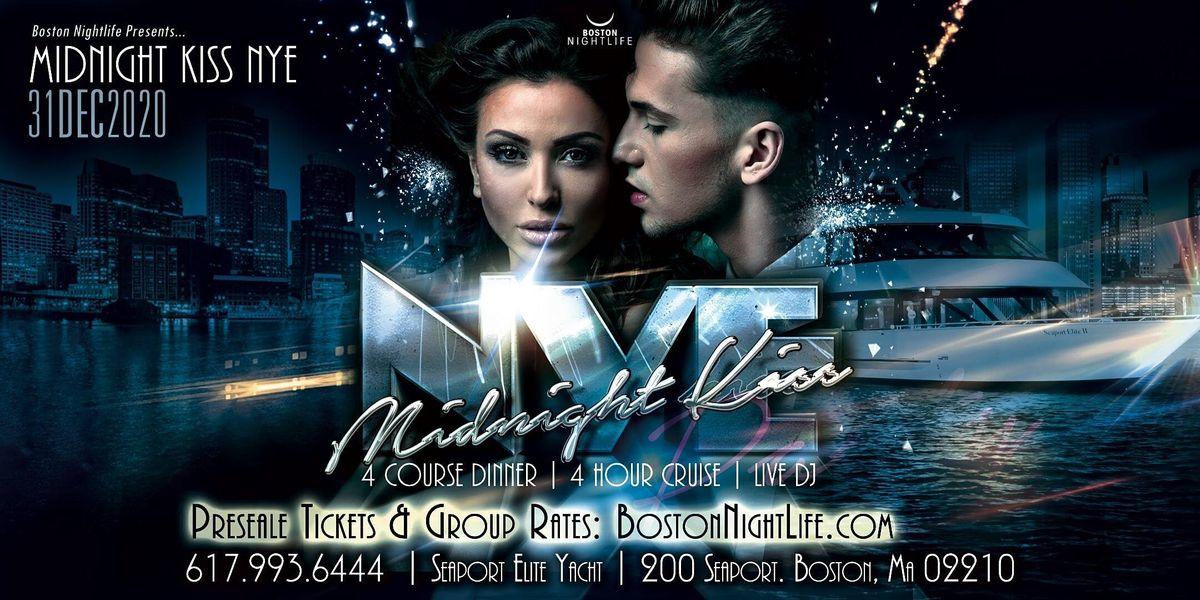 Midnight Kiss Boston New Years Eve 2021, Thu Dec 31 2020 ...