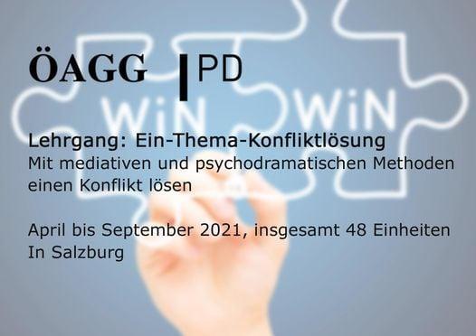 Lehrgang: Ein-Thema-Konfliktlösung, 16 April | Event in Salzburg | AllEvents.in