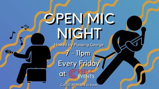 Open Mic Night at RED-C! | Event in Coffs Harbour | AllEvents.in