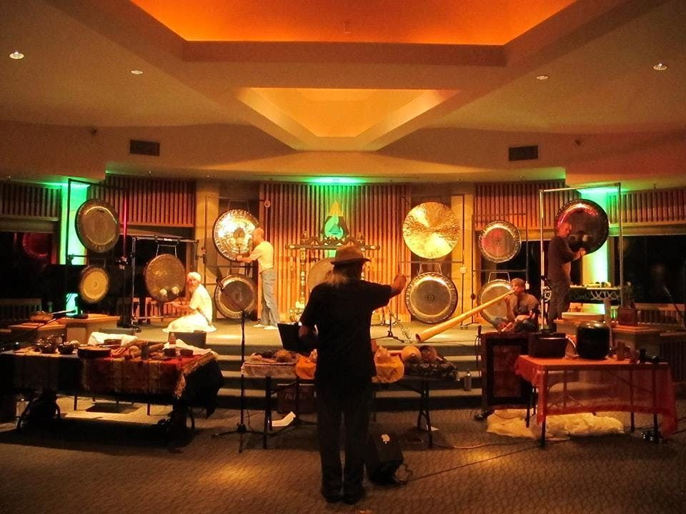 INDIA - Yatra & Gong Consciousness Training with Gong Master Don Conreaux