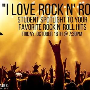 """ I Love Rock N Roll"" Student Spotlight & Party"