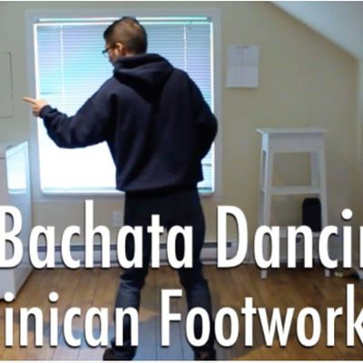 Learn to dance Dominican Bachata Free Workshop (Basic Footwork)