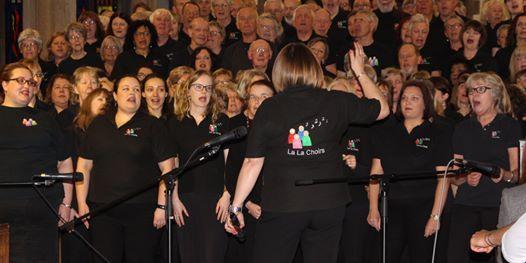Pi Singles La La Choir Evening