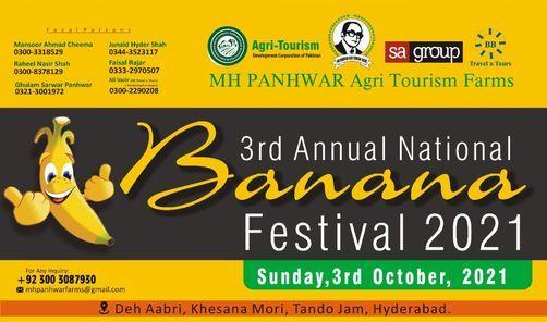 3rd National Banana Festival 2021, 3 October   Event in Karachi   AllEvents.in