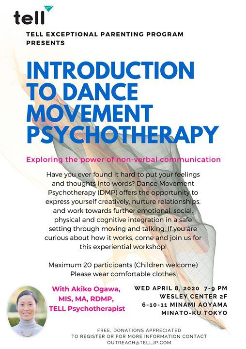 EPP Introduction to Dance Movement Psychotherapy