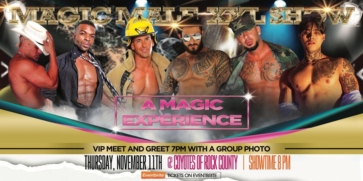 "MAGIC MALE XXL SHOW | ""A MAGIC EXPERIENCE"", 11 November | Event in Beloit | AllEvents.in"