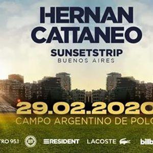 Hernn Cattaneo presenta Sunsetstrip Buenos Aires