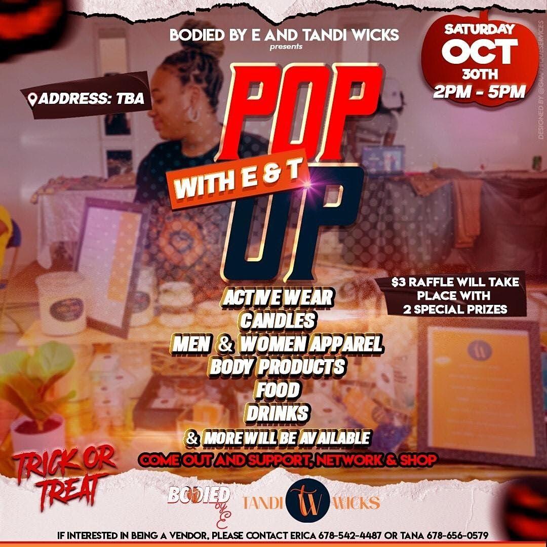 Pop Up Shop, 30 October | Event in Atlanta | AllEvents.in
