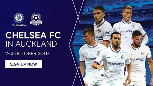 Chelsea FC Player Development Project Camp - Auckland