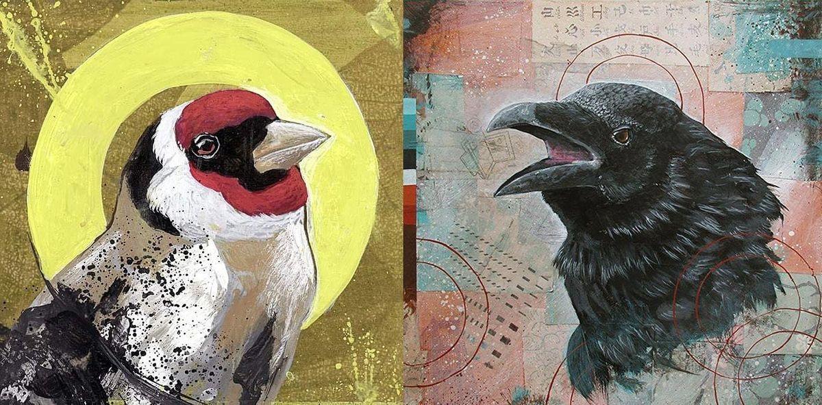 Artist Mixer - Bird Portrait Painting, 10 December | Online Event | AllEvents.in