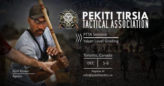 PTTA Canada Seminar w/ Agalon Njoli Brown, 5 December | Event in Scarborough | AllEvents.in