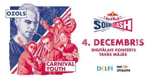 Red Bull SoundClash Latvija, 4 December | Online Event | AllEvents.in