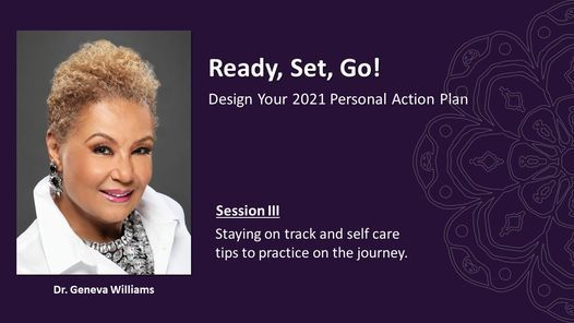 Ready, Set, Go - Design Your 2021 Action Plan! Session III, 13 May | Online Event | AllEvents.in