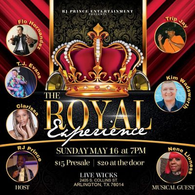 RJ Prince Entertainment presents The Royal Experience Comedy show
