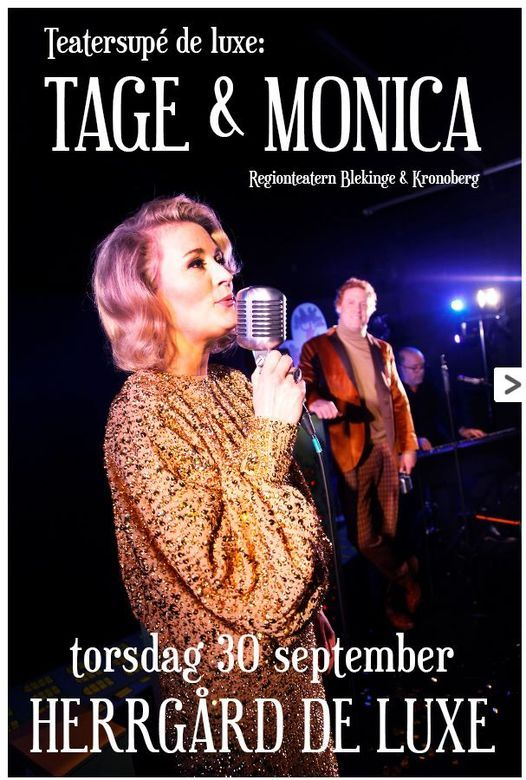 Teatersupé: Tage & Monica, 30 September | Event in Emmaboda | AllEvents.in