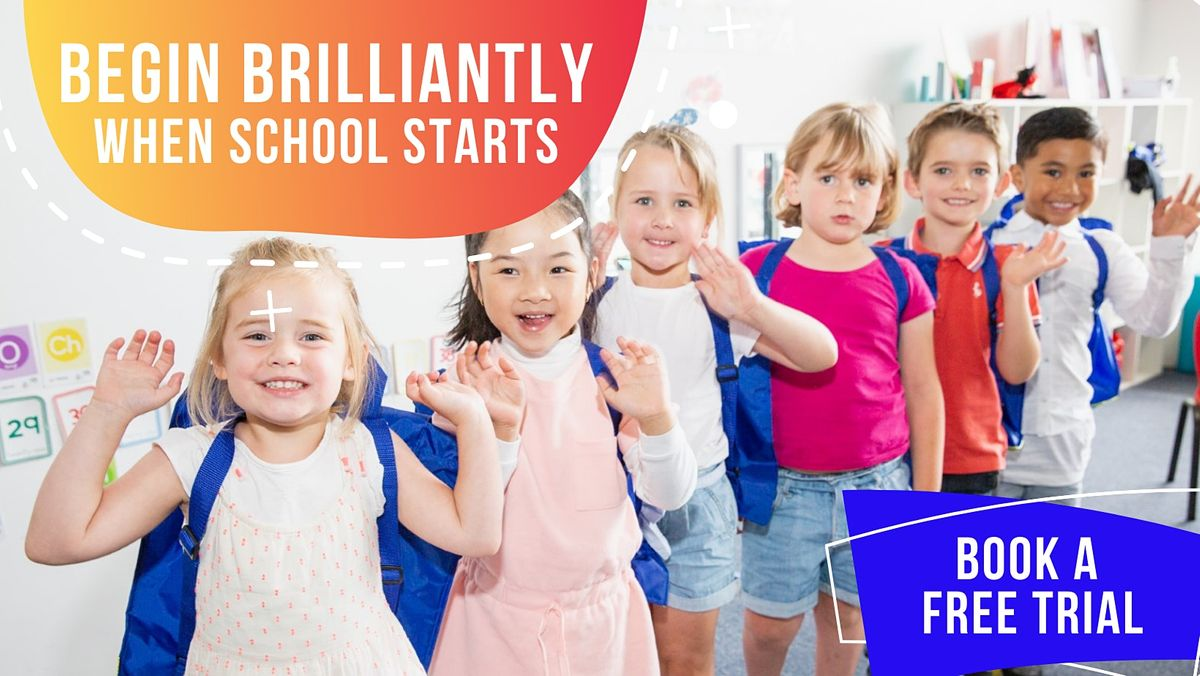 FREE TRIAL CLASS. School Readiness Program. BEGIN BRILLIANTLY (Point Cook) | Event in Point Cook | AllEvents.in
