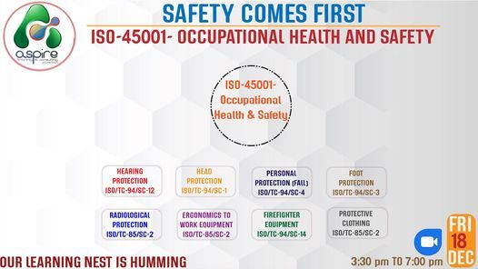 WORKSHOPO ON : ISO-45001-Occupational Health And Safety, 29 January | Event in Islamabad | AllEvents.in