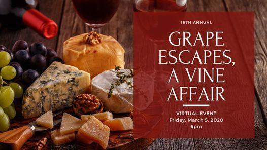 Grape Escapes, A Vine Affair! | Online Event | AllEvents.in