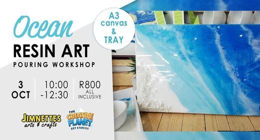 Ocean Resin Art Class, 3 October   Event in Pretoria   AllEvents.in