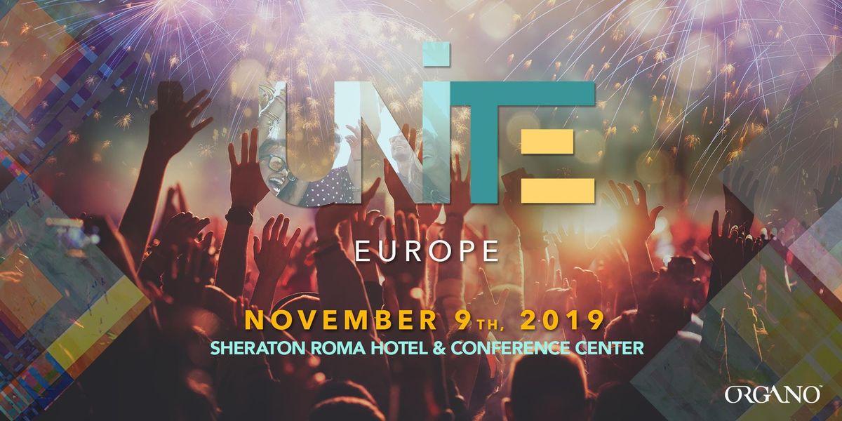 UNITE EUROPE 2019 at Sheraton Roma Hotel & Conference Center