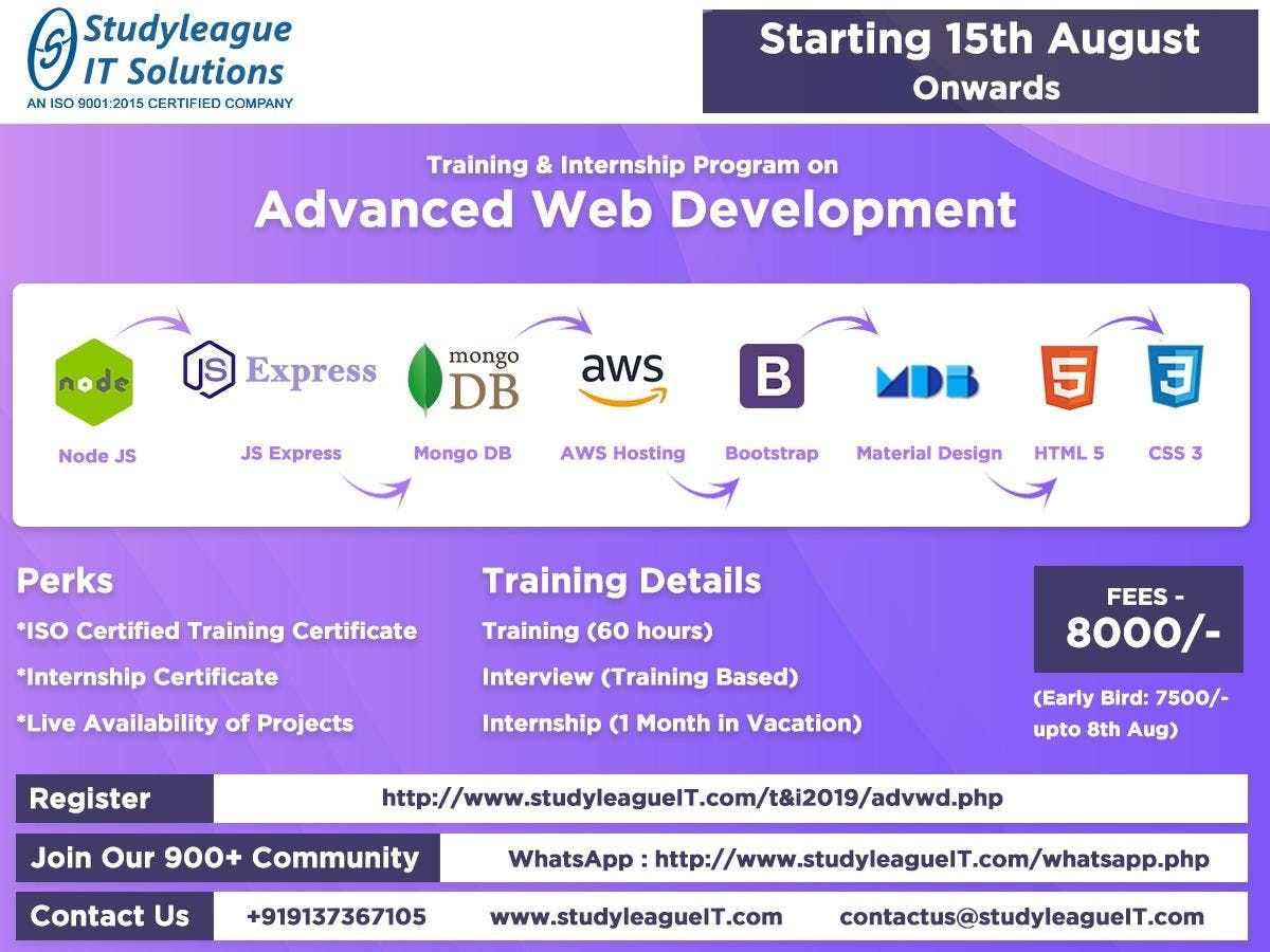 Advance Web Development at Thane, Thane